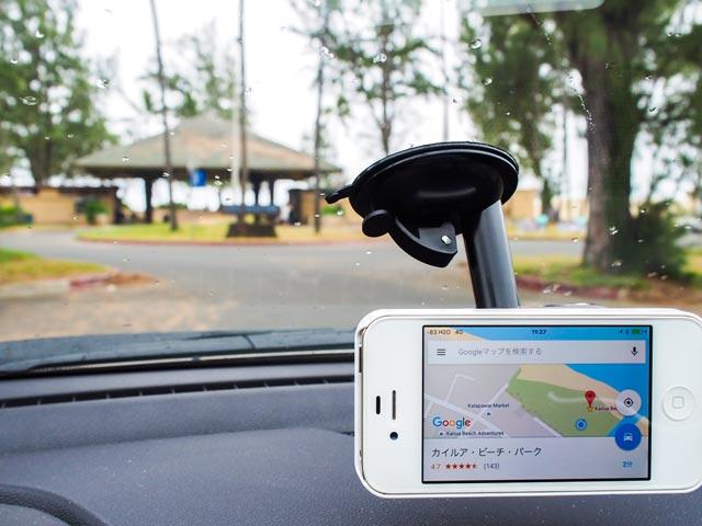 ハワイでiPhoneをカーナビ代わりにするときに役立つL字型Lightningケーブル